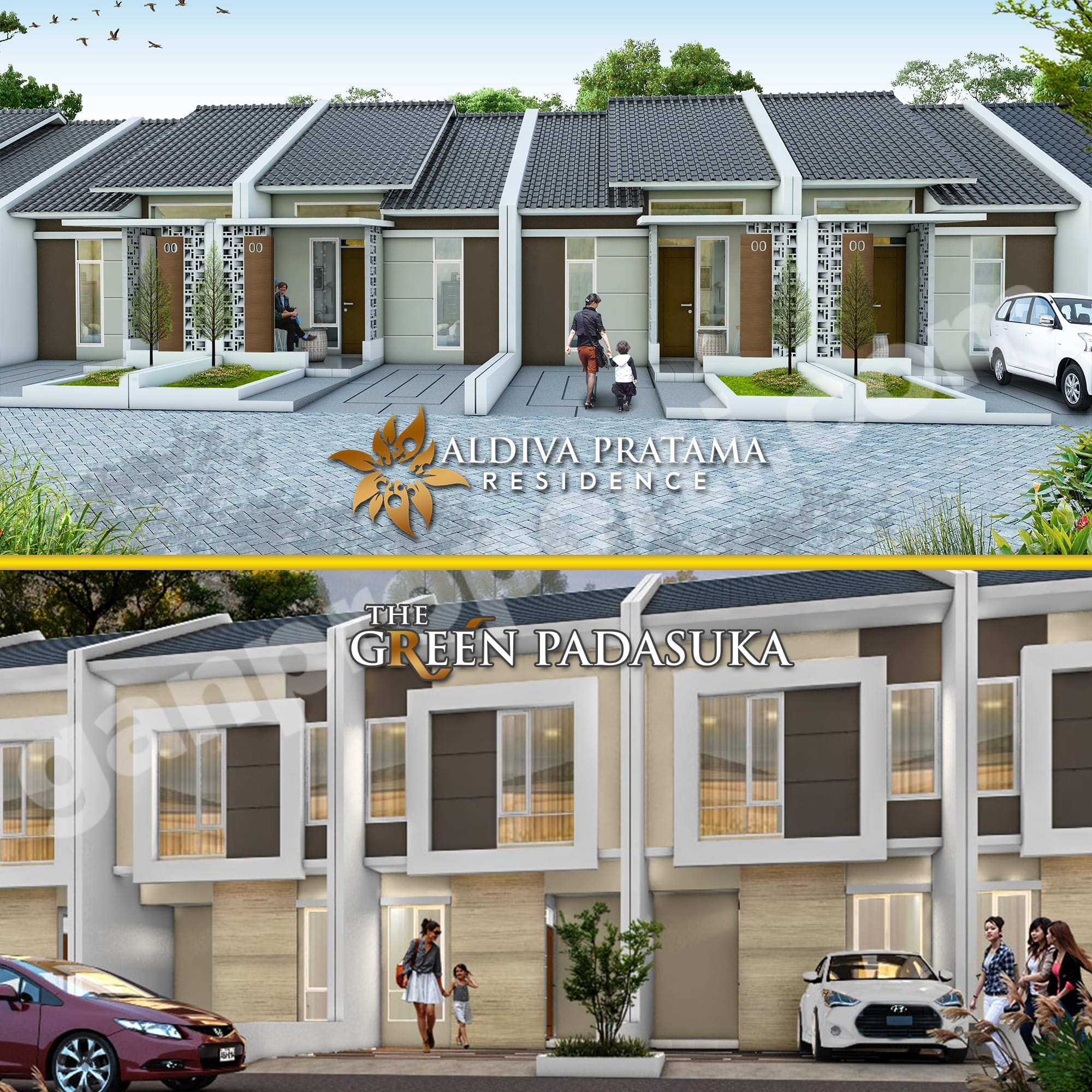 New Project Aldiva Pratama Residence & The Green Padasuka